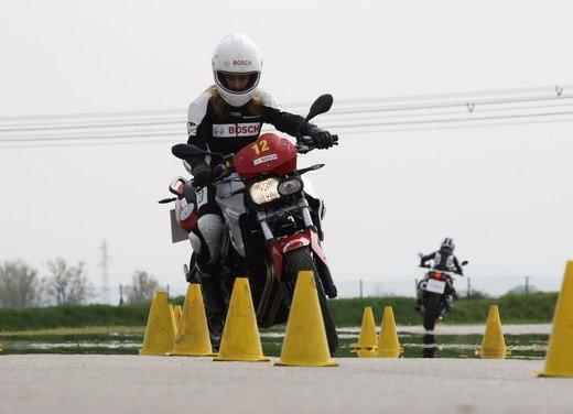 ABS Bosch, test ride del sistema antibloccaggio a Vairano - Foto 48 di 53