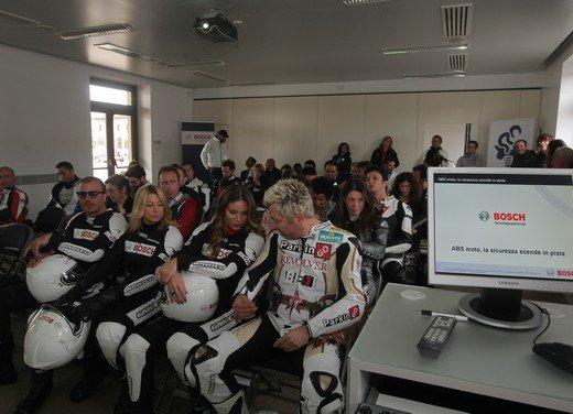ABS Bosch, test ride del sistema antibloccaggio a Vairano - Foto 7 di 53