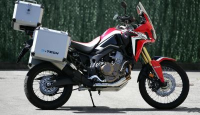 Honda Africa Twin: Valige, Top Case ed altri accessori