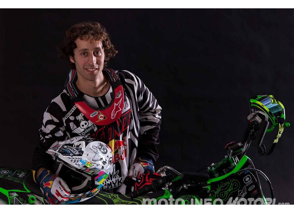 Davide Rossi: FMX di livello con Daboot e Kawasaki