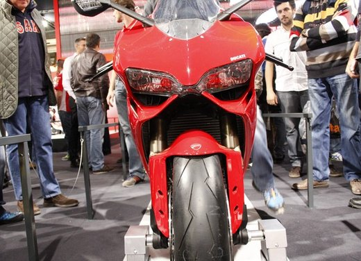 Ducati 1199 Panigale S e Troy Bayliss al Ducati Riding Experience 2012 - Foto 2 di 36