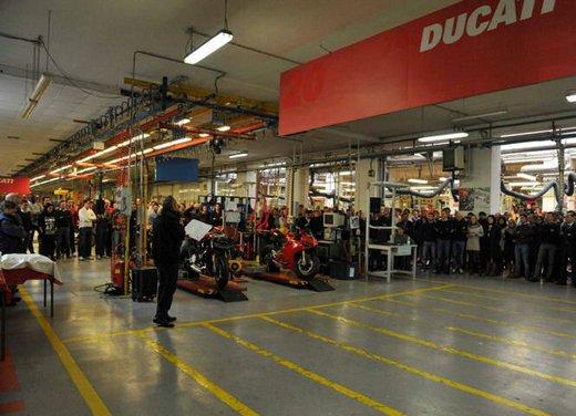 Ducati 1199 Panigale: iniziata la produzione - Foto 2 di 13