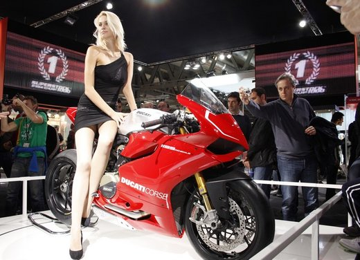 Ducati 1199 Panigale S e Troy Bayliss al Ducati Riding Experience 2012 - Foto 27 di 36