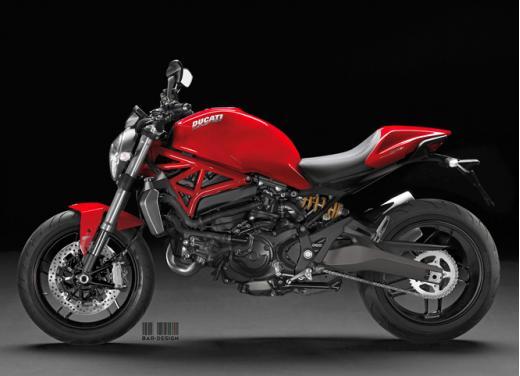 Ducati Monster 800 rendering - Foto 1 di 2