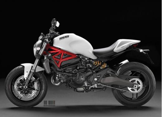 Ducati Monster 800 rendering - Foto 2 di 2