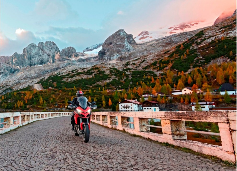 Ducati Multistrada Experience nel Winter Tour 2015