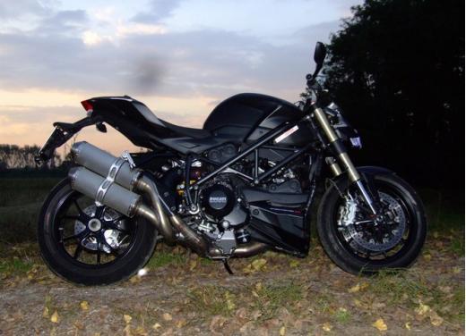 Ducati Streetfighter 848 prova su strada - Foto 9 di 27