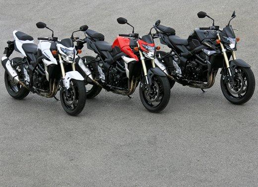 Suzuki GSR 750  in offerta fino al 31 ottobre 2012