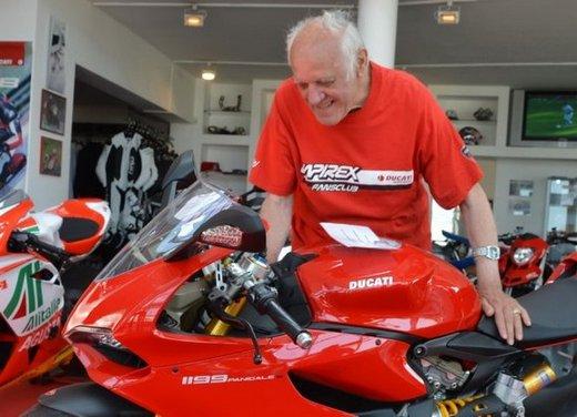 Ducati 1199 Panigale S per un rider di 85 anni - Foto 6 di 19