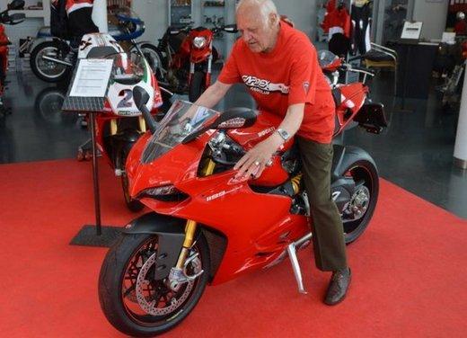 Ducati 1199 Panigale S per un rider di 85 anni - Foto 2 di 19