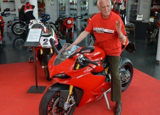 Ducati 1199 Panigale S per un rider di 85 anni - Foto 3 di 19