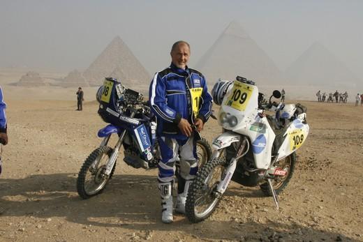 Franco Picco alla Dakar 2010 - Foto  di