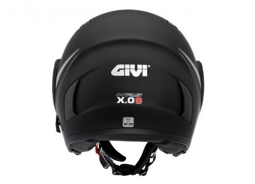 GIVI X.09 Jet: il casco aperto che diventa integrale - Foto 3 di 3