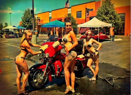 Harley Davidson High Desert Girls