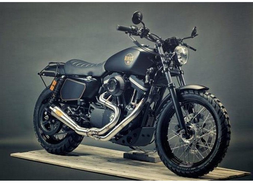 Harley-Davidson XL 1200 Renard Scrambler