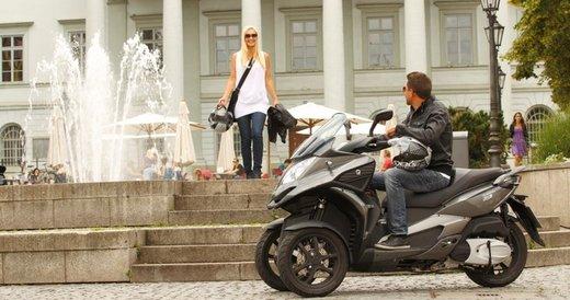 Scooter tre ruote Quadro 350 S al Motor Bike Expo 2013