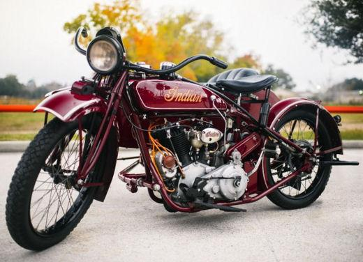 Indian Big Chief Sidecar del 1923 di Steve McQueen in vendita all'asta