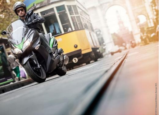Kawasaki J300: bauletto e 4 anni di garanzia - Foto 6 di 10