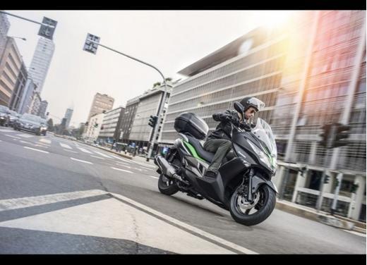 Kawasaki J300: bauletto e 4 anni di garanzia - Foto 8 di 10