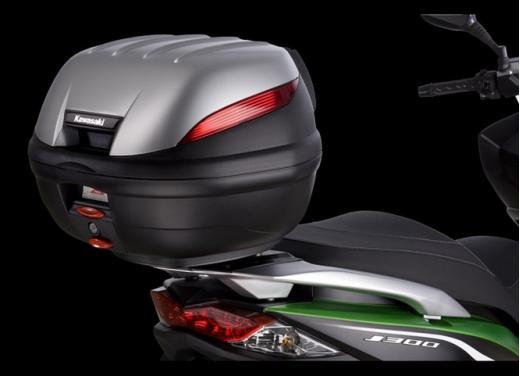 Kawasaki J300: bauletto e 4 anni di garanzia - Foto 3 di 10