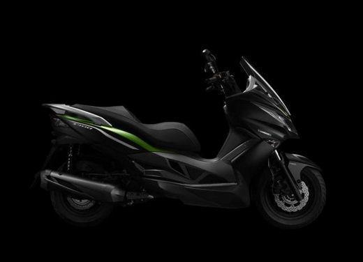 Kawasaki pronta a lanciare il suo primo scooter in Europa - Foto 2 di 4