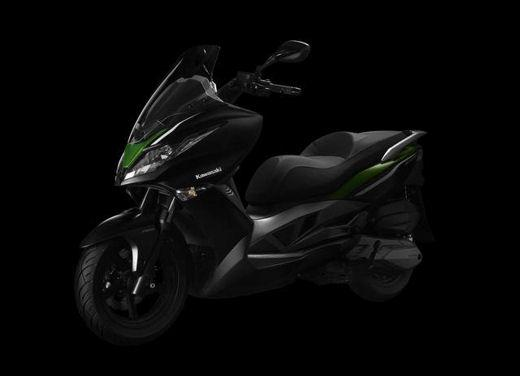 Kawasaki pronta a lanciare il suo primo scooter in Europa - Foto 1 di 4