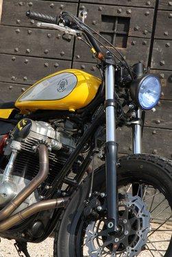 Kawasaki Nic Track by Moto di Ferro - Foto 9 di 11