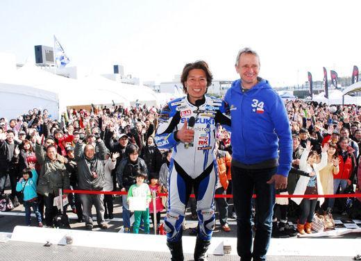 Kevin Schwantz torna a correre su Suzuki nel Campionato Mondiale Endurance - Foto 1 di 2