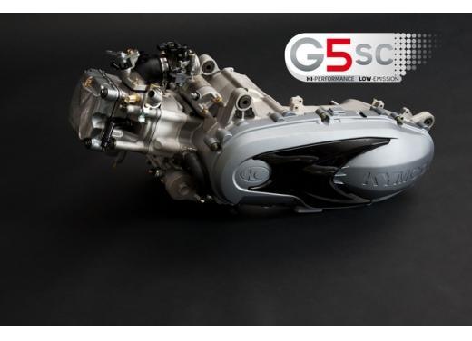 Kymco, nuovo motore G5 SC per scooter - Foto 5 di 7