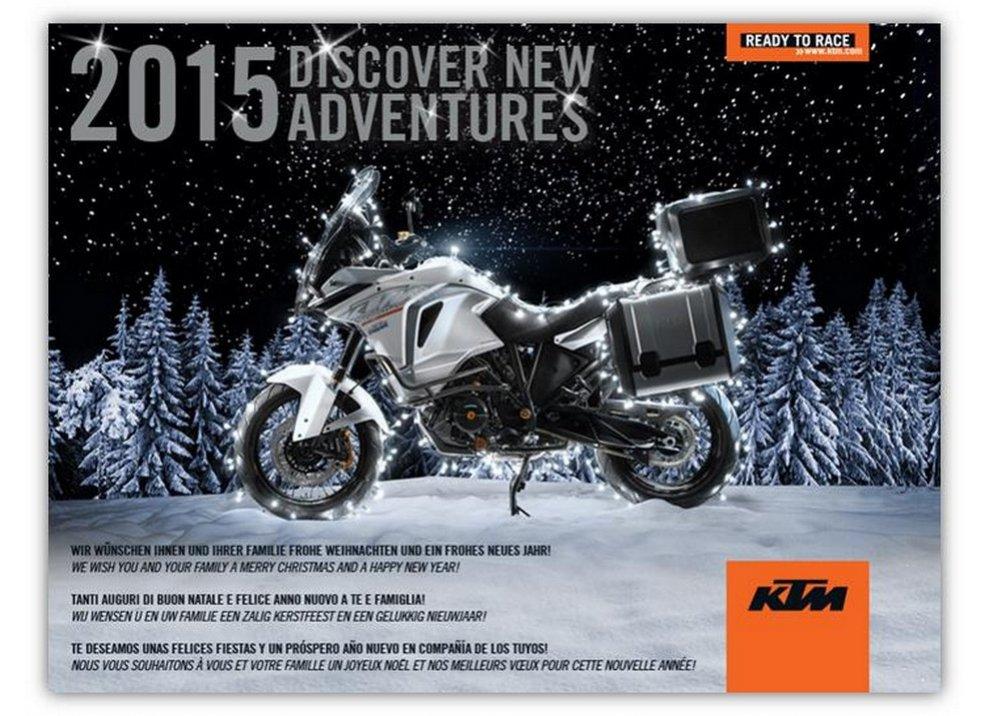 KTM ha prodotto più di 100.000 motociclette nel 2014 - Foto 1 di 6