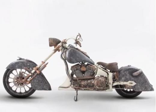 La moto più costosa del mondo è un chopper turco - Foto 2 di 7