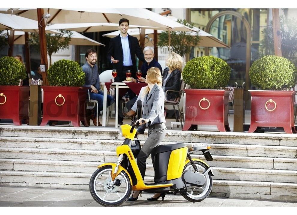 Lo scooter elettrico tutto italiano nasce a Vicenza grazie ad Askoll