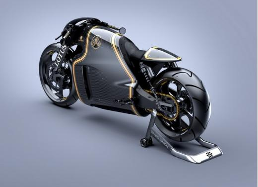 Lotus C-01, la prima moto del marchio britannico - Foto 2 di 23