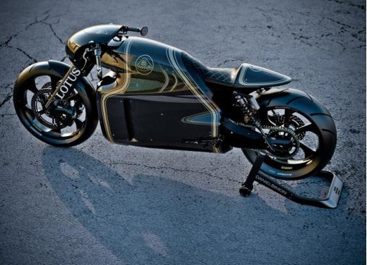 Lotus C-01, la prima moto del marchio britannico - Foto 3 di 23