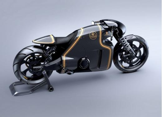 Lotus C-01, la prima moto del marchio britannico - Foto 6 di 23