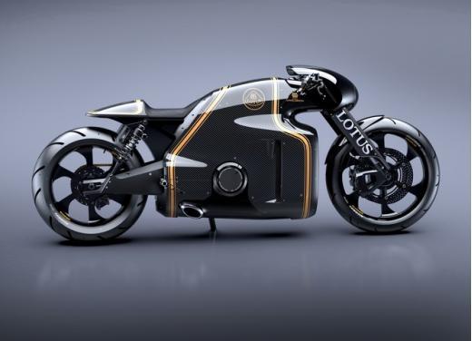 Lotus C-01, la prima moto del marchio britannico - Foto 7 di 23