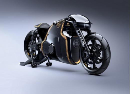 Lotus C-01, la prima moto del marchio britannico - Foto 1 di 23