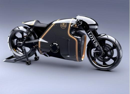 Lotus C-01, la prima moto del marchio britannico - Foto 12 di 23