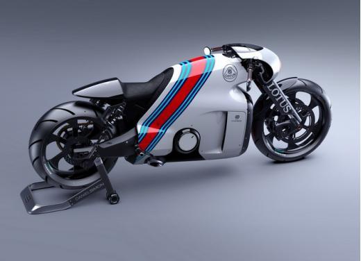 Lotus C-01, la prima moto del marchio britannico - Foto 13 di 23