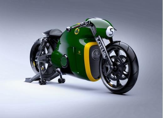 Lotus C-01, la prima moto del marchio britannico - Foto 18 di 23