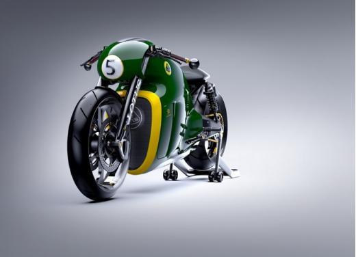 Lotus C-01, la prima moto del marchio britannico - Foto 19 di 23