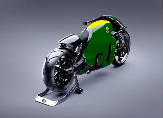 Lotus C-01, la prima moto del marchio britannico - Foto 20 di 23