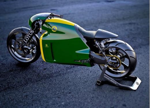 Lotus C-01, la prima moto del marchio britannico - Foto 23 di 23