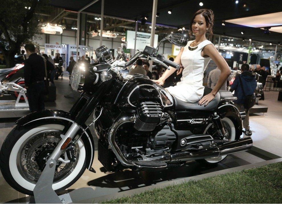 Moto Guzzi Eldorado informazioni ufficiali