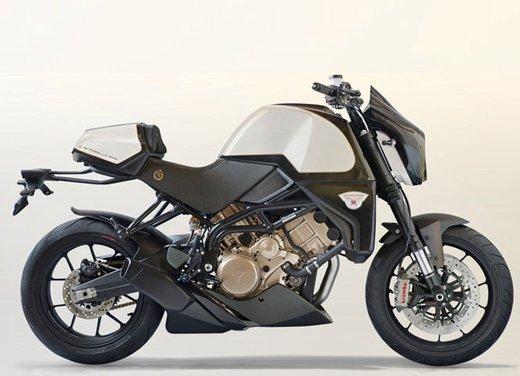 Moto Morini Rebello 1200 Giubileo: 600 modelli all'asta per festeggiare
