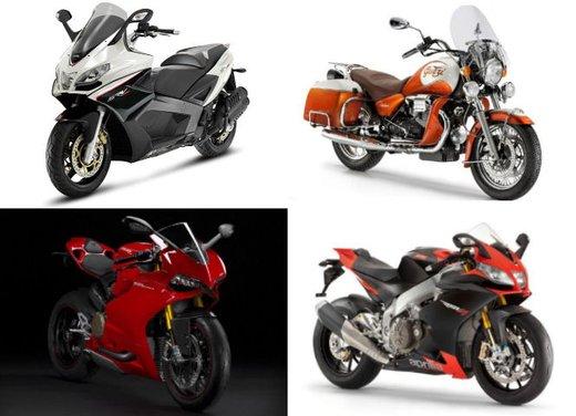 Motodays 2012: novità da Ducati, Piaggio, Aprilia, Moto Guzzi
