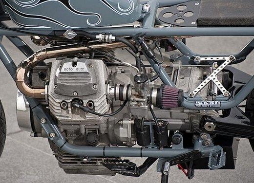 Moto Guzzi V50 Monza in versione custom giapponese - Foto 8 di 9