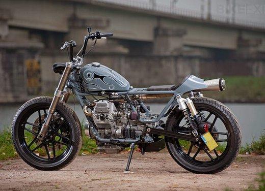 Moto Guzzi V50 Monza in versione custom giapponese