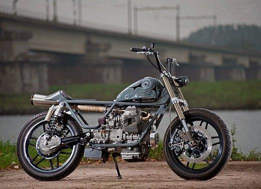 Moto Guzzi V50 Monza in versione custom giapponese - Foto 6 di 9