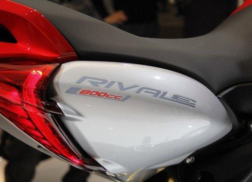 MV Agusta Rivale 800 la moto più bella di Eicma 2012 - Foto 9 di 23